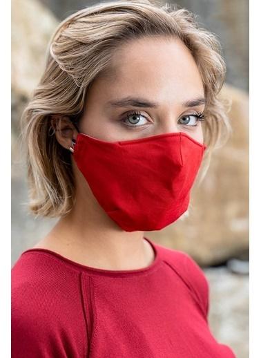 Silk and Cashmere Maske Kırmızı